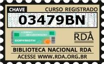 Curso Registrado na Biblioteca Nacional.